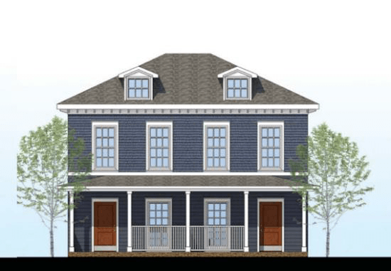 Rendering of Heritage Place Duplex Phase7