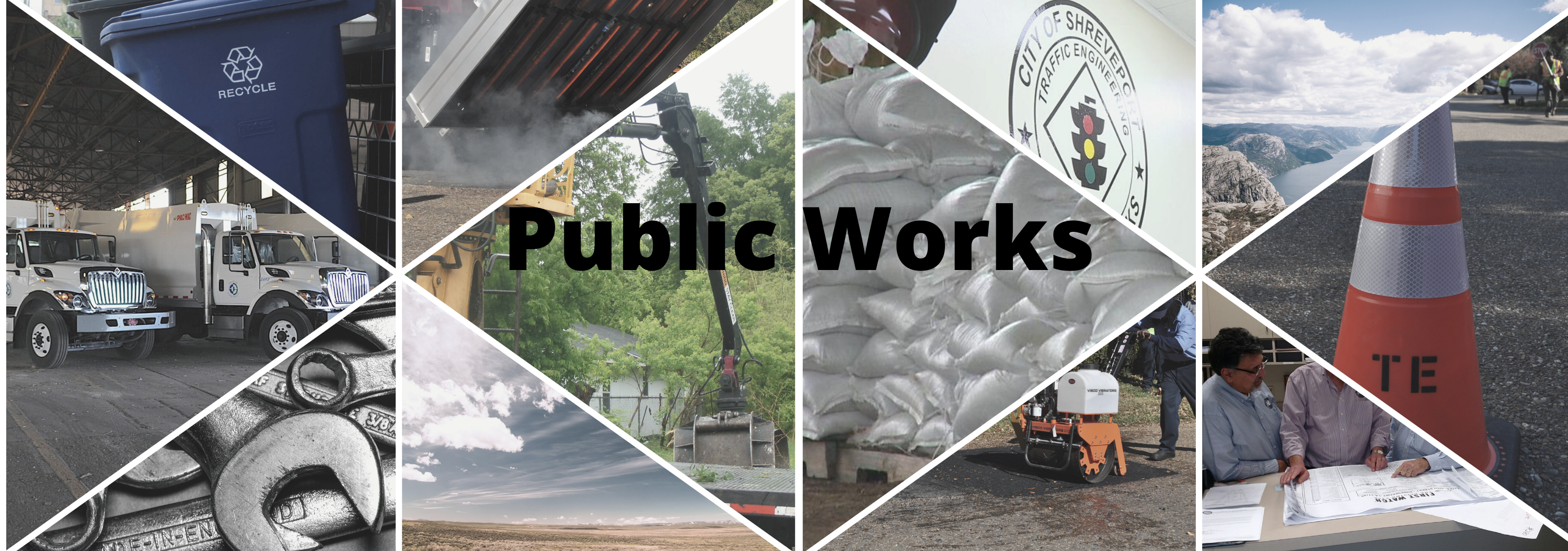 Public Works Web Page Banner